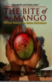 Bite of the mango