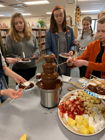Chocolate Fondue Protest Party!